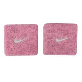 Munhequeira Nike  Swoosh Rosa Claro