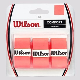 OVERGRIP COMFORT WILSON LARANJA NEON