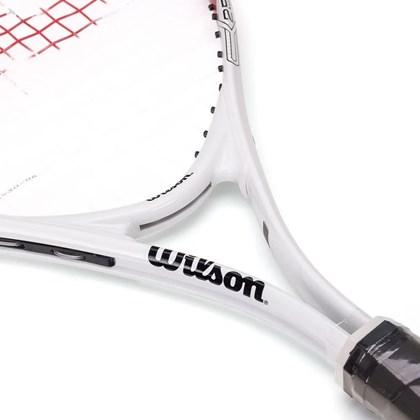 Raquete Wilson Federer 25 Infantil Branco