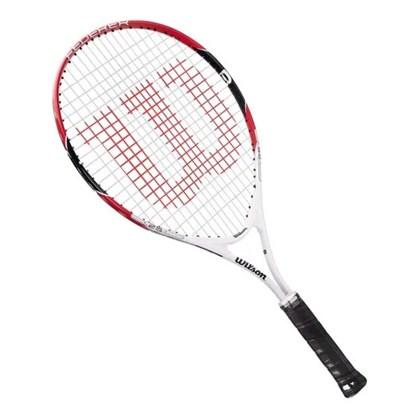 Raquete Wilson Federer 26 Infantil Preto