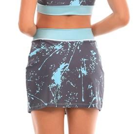 Saia Shorts Manly Aerobic Azul