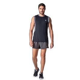 SHORTS 10 RUNNER VSTM CINZA