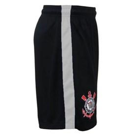 Shorts de Treino Nike Corinthians Infantil Preto