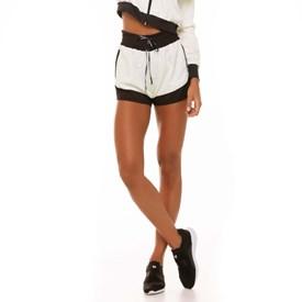 Shorts Feminino Bicolor Vestem Preto