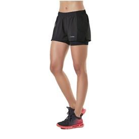 Shorts La Clofit Run Go Preto