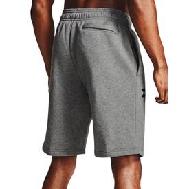 Shorts Masculino Adulto Under Armour Rival Fleece Cinza