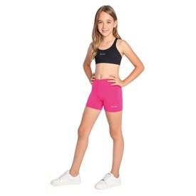 Shorts Trinys Liso Infantil Pink