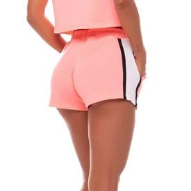 Shorts Vestem Tricolor Coral Neon