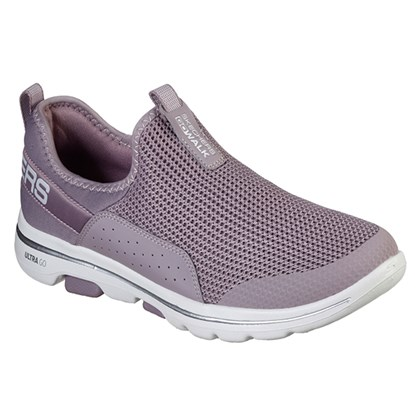 Tênis Skechers Go Walk 5 Sovereign Lilás