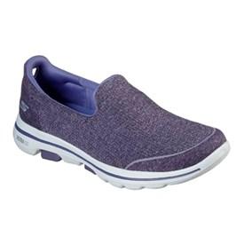 Tênis Skechers Go Walk 5 Super Sock Feminino Lilás