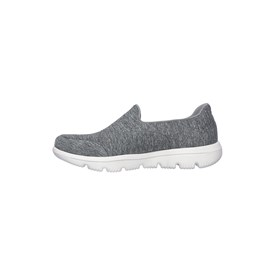 Tênis Skechers Go Walk Evolution Ultra Amazed Feminino Cinza