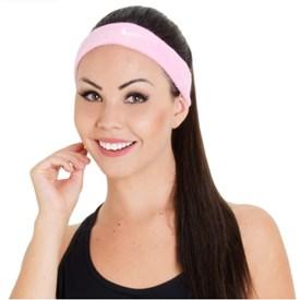 Testeira Nike Swoosh Headband Rosa
