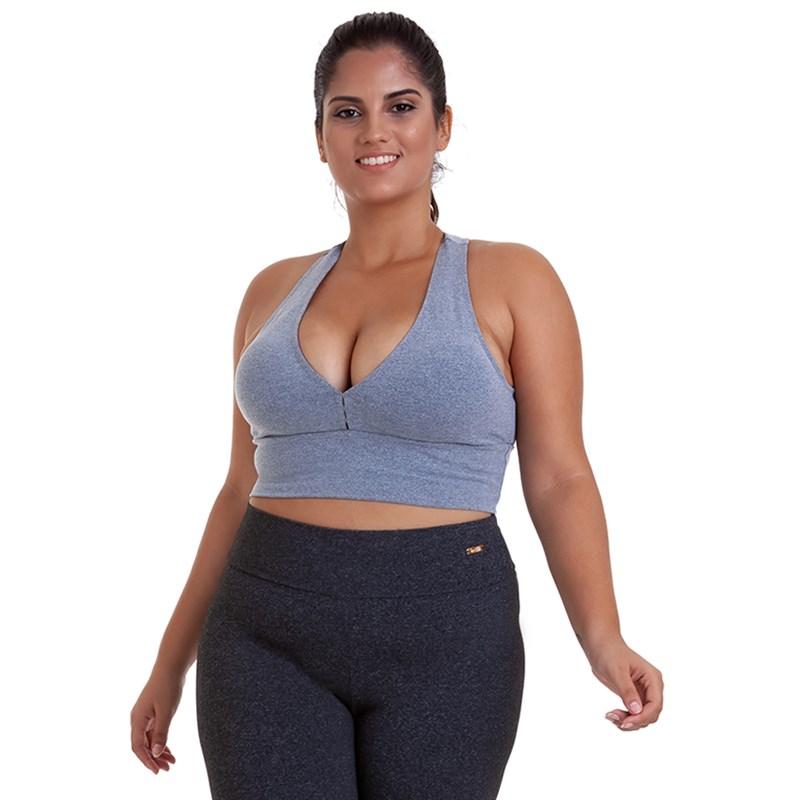 Top Best Fit Suplex Plus Size Mescla