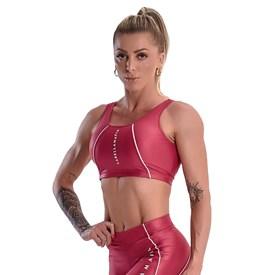 Top Labellamafia Feminino Glossy Pink