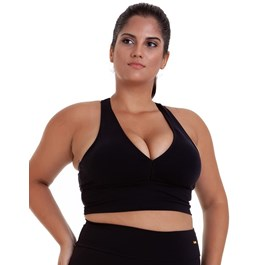 TOP PLUS SIZE SUPPLEX BASICO PRETO BEST FIT