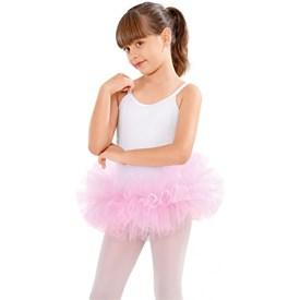 Tou Tou Só Dança Repolho Ballet Infantil Rosa Claro