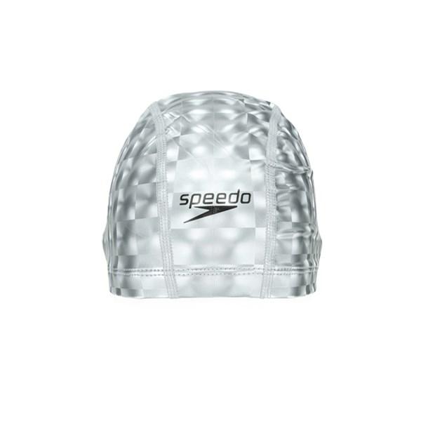 Touca de Natação Adulta Speedo Comfort Cap 3D Prata
