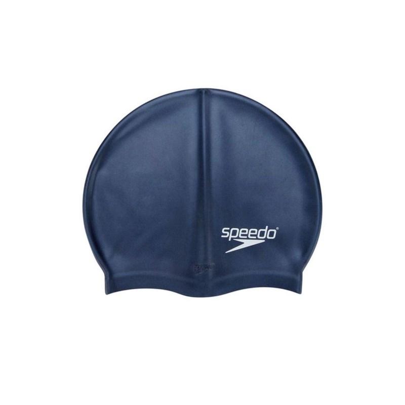 Touca de Natação Adulta Speedo Flat Swim Cap Azul