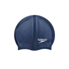 Touca de Natação Adulta Speedo Flat Swim Cap Azul Marinho