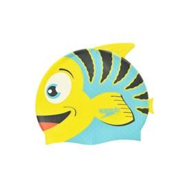 Touca de Natação Infantil Speedo Fish Cap Amarela