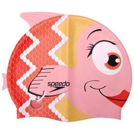 Touca de Natação Infantil Speedo Fish Cap Coral