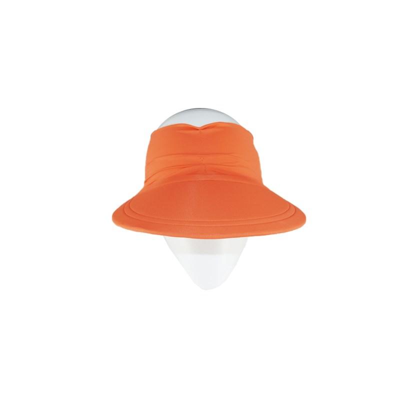 Viseira Turbante Best Fit Proteção UV Coral