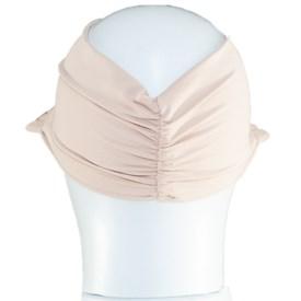 Viseira Turbante Best Fit Proteção UV Nude